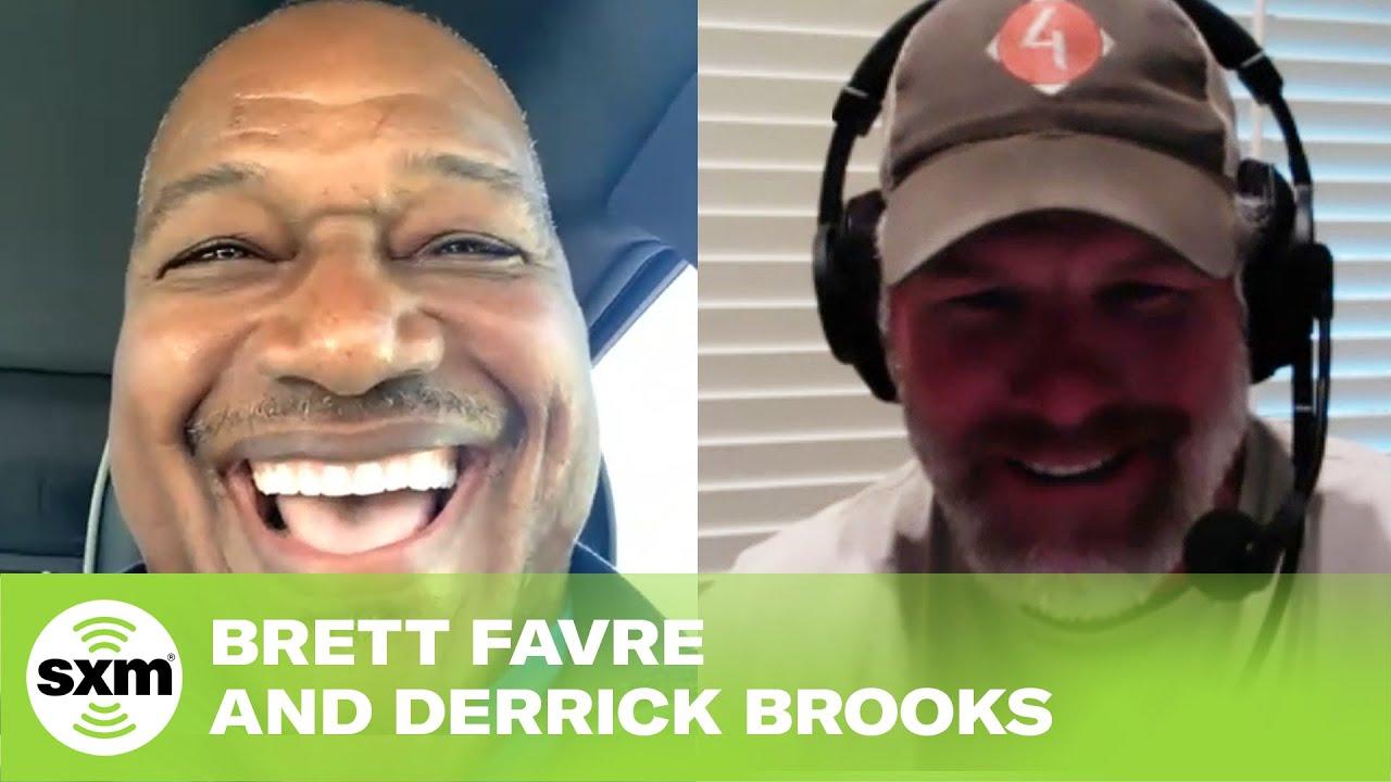 Brett Favre and Derrick Brooks Talk Packers-Buccaneers Showdowns