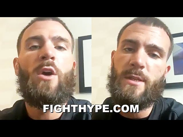 """CALEB PLANT CHALLENGES CANELO TO """"DUKE IT OUT"""" UNDISPUTED SHOWDOWN; TALKS """"BUSINESS TO ATTEND TO"""""""