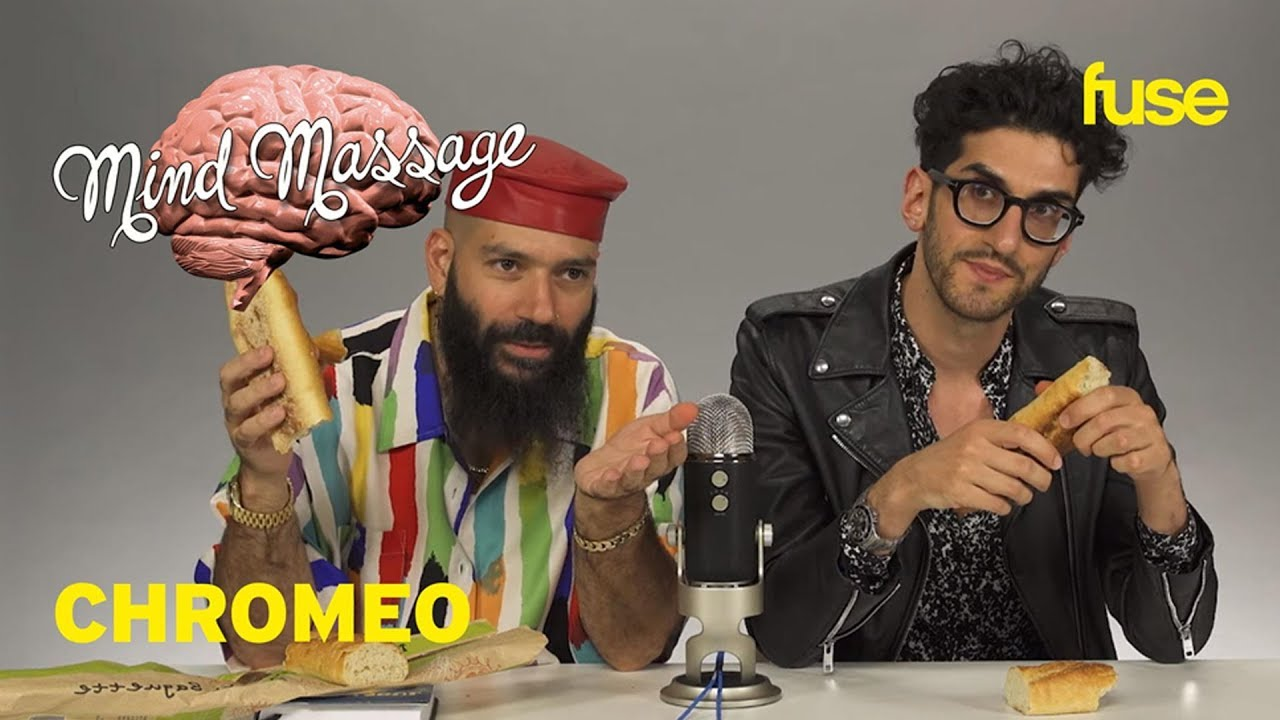 Chromeo Does An Insomnia-Inspired ASMR with Goodie Bags And Vegetables | Mind Massage | Fuse