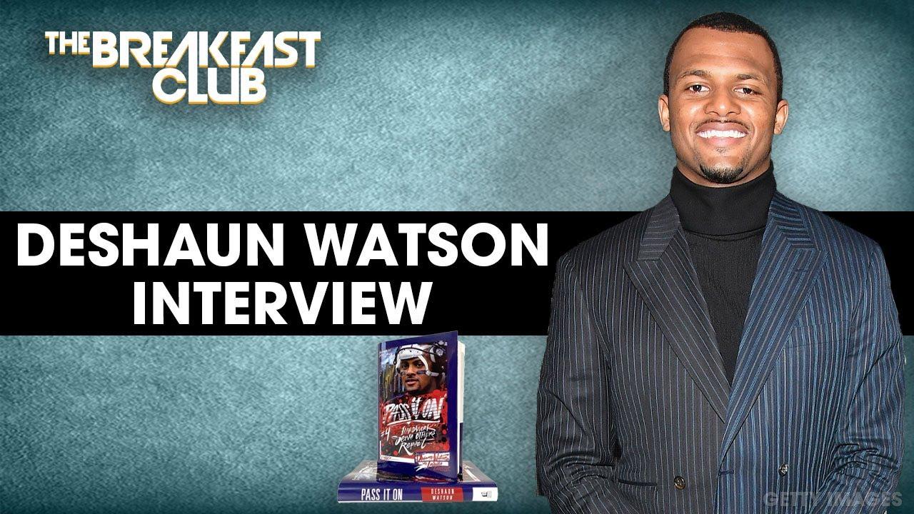 DeShaun Watson & King Saladeen Talk New Book, Giving Back To Houston + More