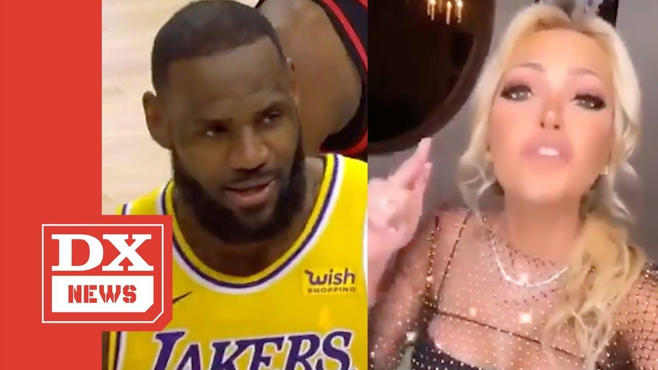 "Drake & 2 Chainz Come To LeBron James Defense Following ""Courtside Karen"" Altercation"