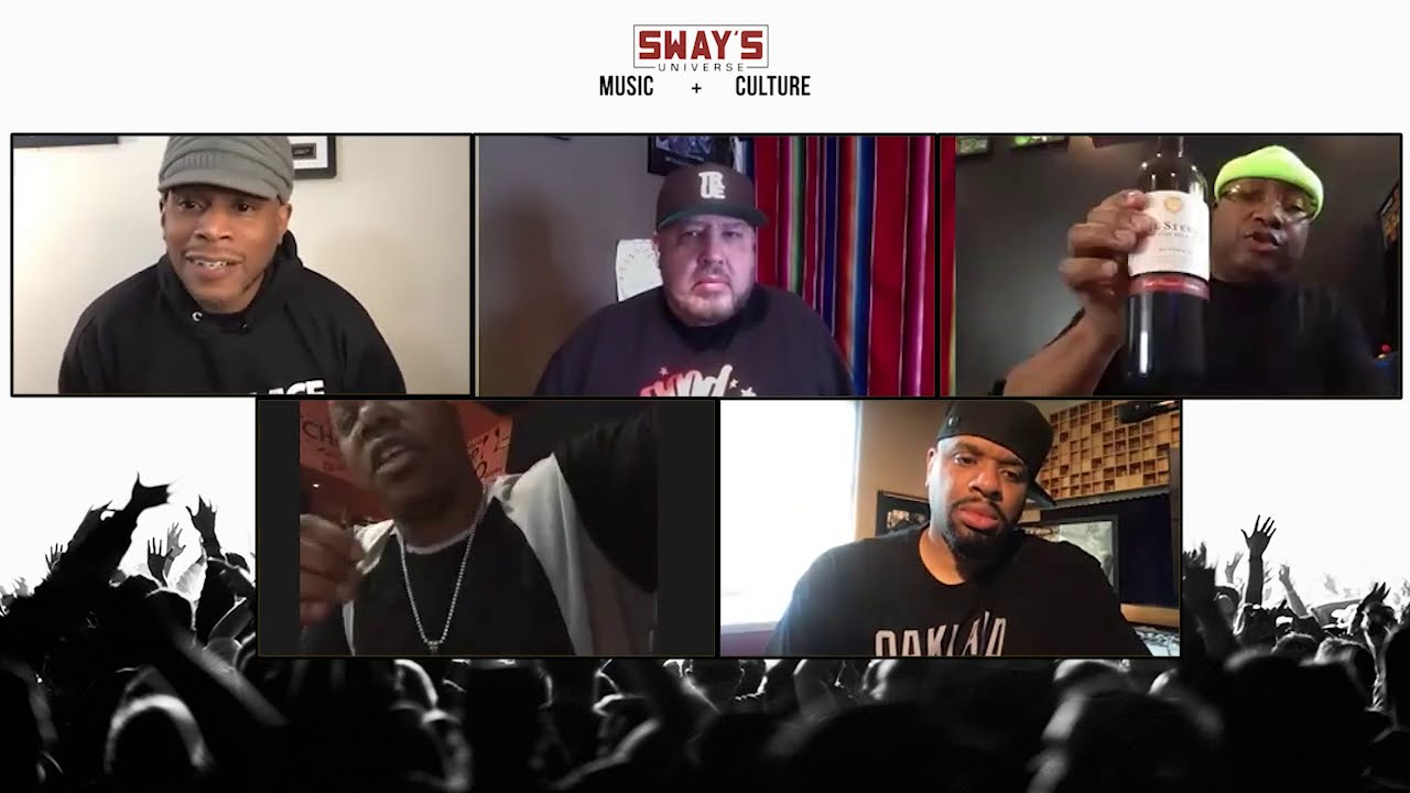 E-40, Too Short, Chuy Gomez, Big Von & DJ Franzen Talk Bay Area Hip-Hop History | SWAY'S UNIVERSE