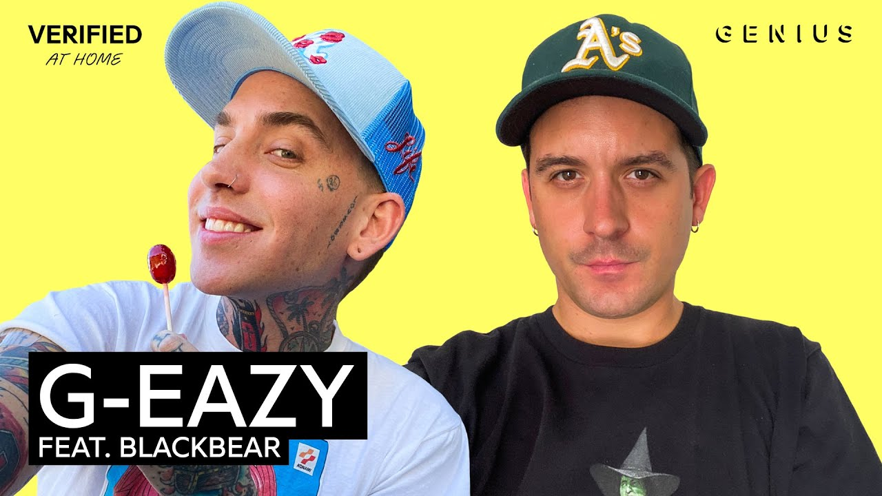 """G-Eazy feat. blackbear """"Hate The Way"""" Official Lyrics & Meaning 
