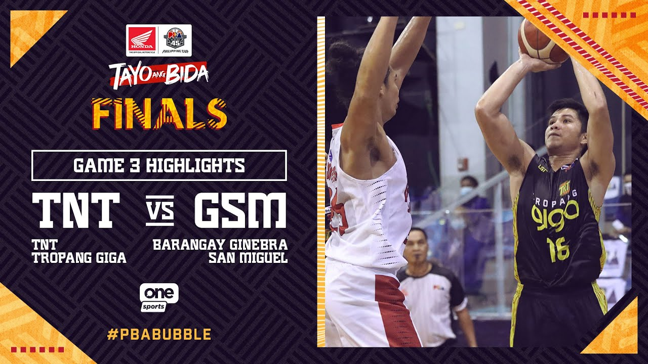 Highlights G3: TNT vs Ginebra | PBA Philippine Cup 2020 Finals