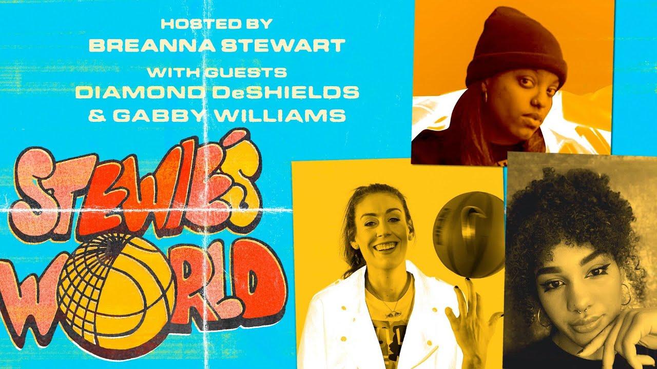 Inside the WNBA Bubble with Diamond DeShields & Gabby Williams | STEWIE'S WORLD