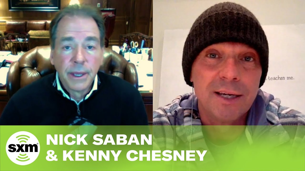 Kenny Chesney and Nick Saban Discuss the Power of Music and Football