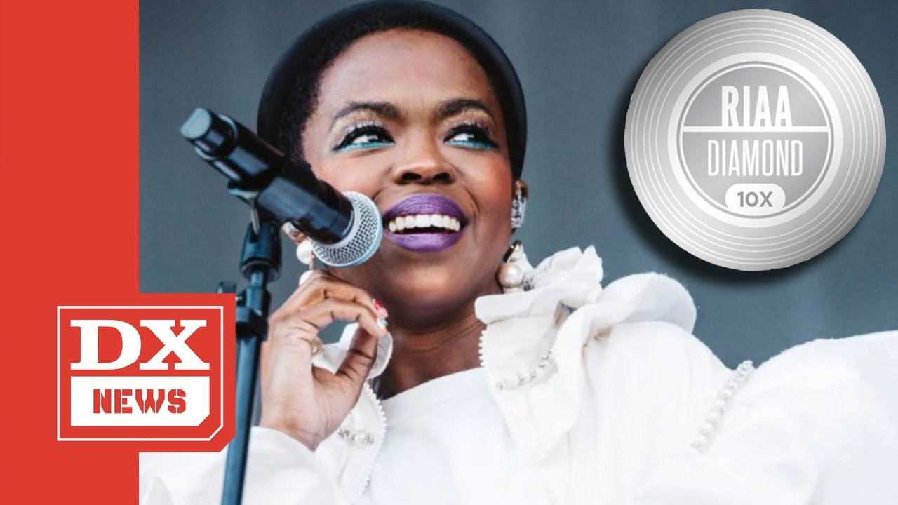 Lauryn Hill Makes History As She Joins Eminem, 2Pac, Biggie & Beastie Boys In Diamond Album Club