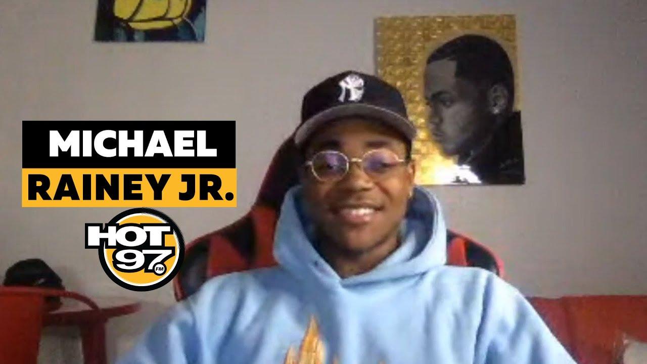 Michael Rainey JR. On 50 Cent, Method Man, & 'Power Book II'
