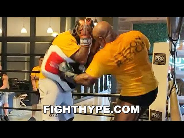 """MIKE TYSON """"DO IT AGAIN"""" TRAINING LEAK; VINTAGE POWER, SPEED, BOB & WEAVE AT 54 YEARS OLD"""