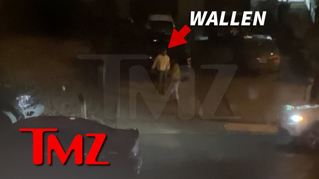 Morgan Wallen Hurls N-Word Outside Home After Rowdy Night Out   TMZ