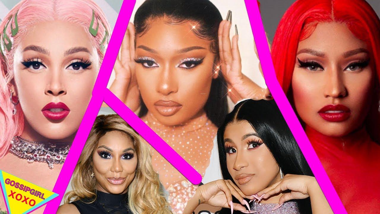 Most Popular Female Artist in 2020 - Megan Thee Stallion, Nicki Minaj, Cardi B, & Doja Cat