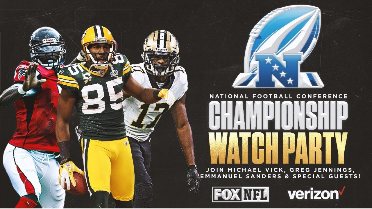 NFC Championship Watch Party with Michael Vick, Greg Jennings, Emmanuel Sanders and surprise guests