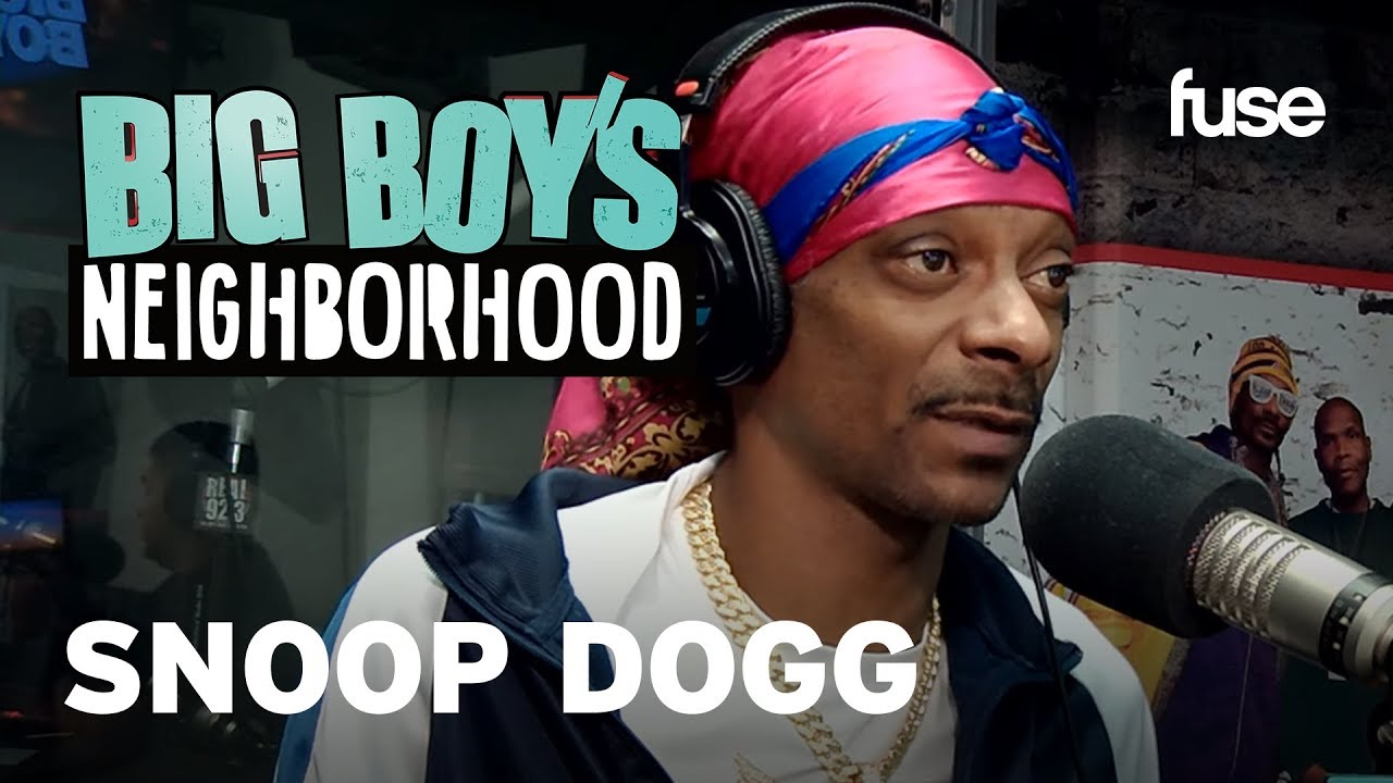 Snoop Dogg On The Importance of Self-Love | Big Boy x Fuse