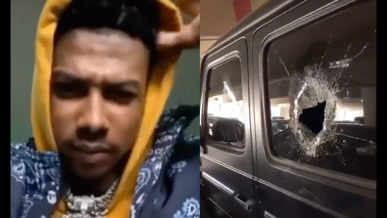Someone Broke Into Blueface Car While He Was On Vacation Offers $100K Reward