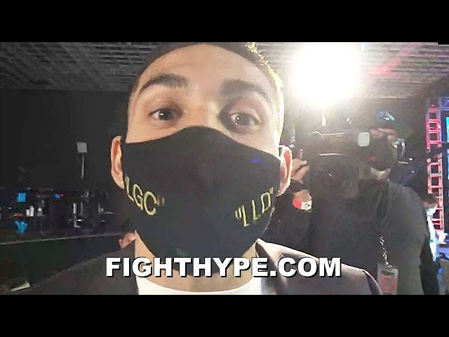"TEOFIMO LOPEZ REACTS TO RICHARD COMMEY KNOCKING OUT MARINEZ IN 6; WARNS ""FAN BOYS"" EX-FOE THE TRUTH"
