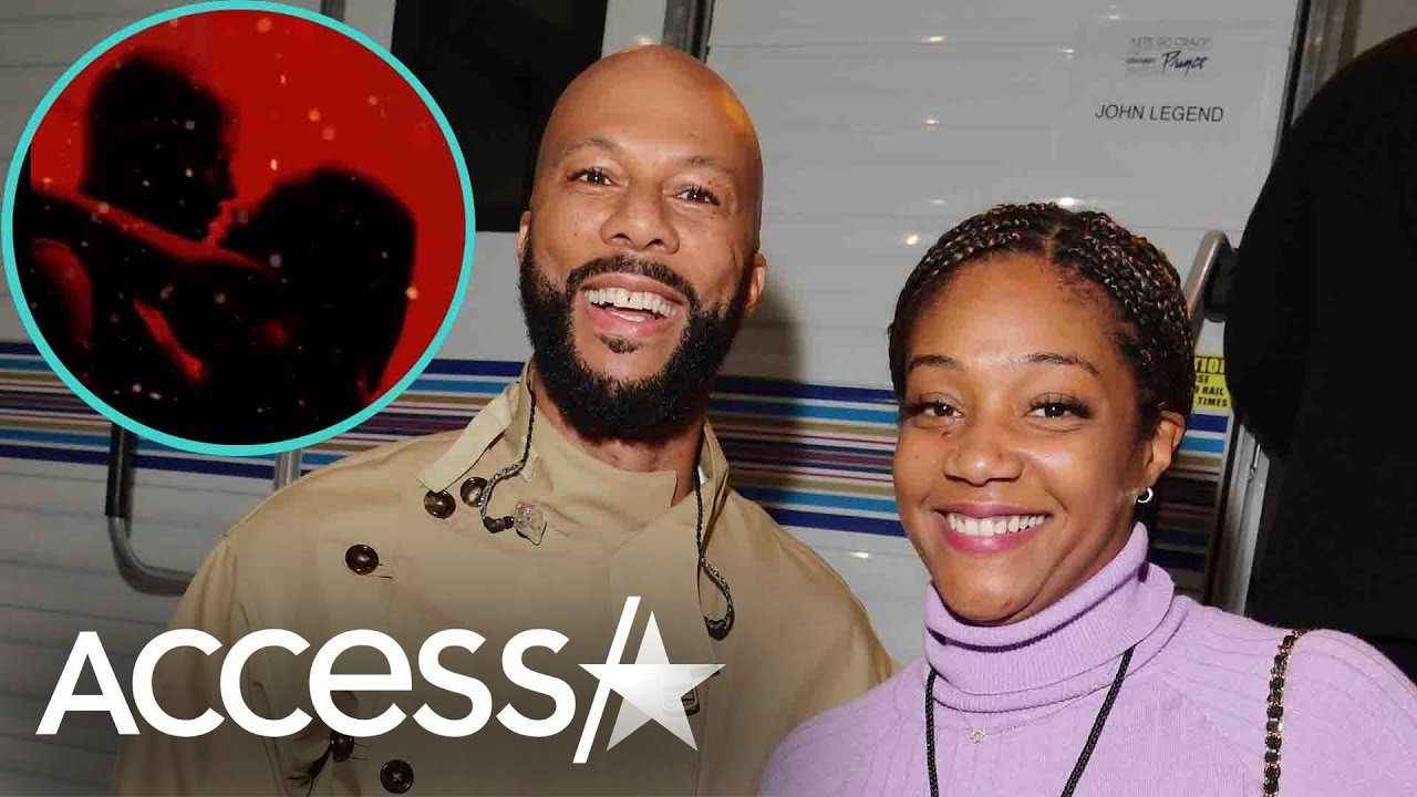Tiffany Haddish & Common Pack On PDA While Doing The Silhouette Challenge