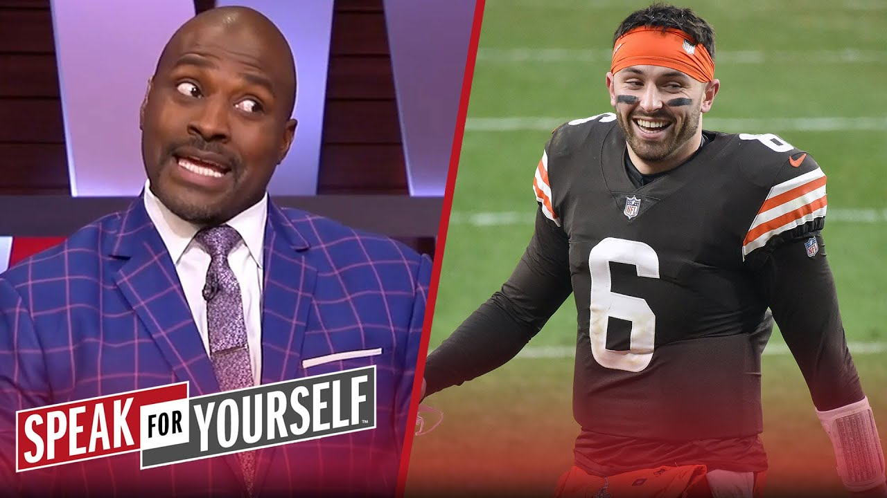 Wiley & Acho react to Baker clapping back at Browns fans who want Watson | NFL | SPEAK FOR YOURSELF