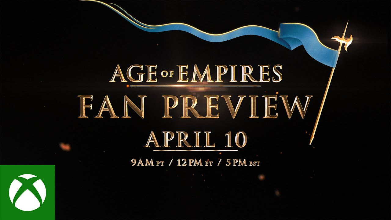 Age of Empires: Fan Preview - Tune In Trailer
