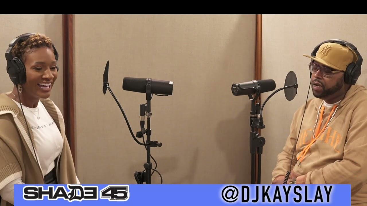 Author Navahcia interview with DJ Kayslay on SiriusXM