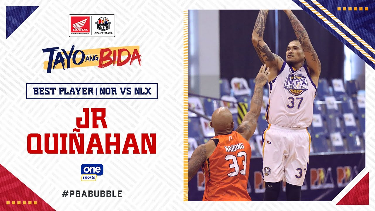 Best Player: JR Quiñahan   PBA Philippine Cup 2020