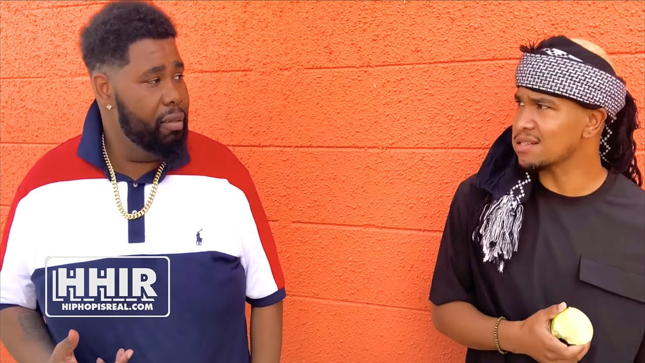 BIG KANNON & EMERSON KENNEDY GOING AT EACH OTHER BEFORE THEIR BL12 BATTLE