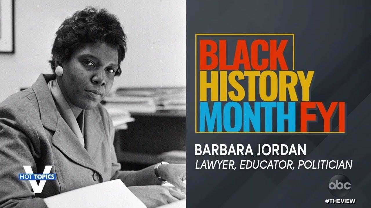 Black History Month FYI: Barbara Jordan | The View