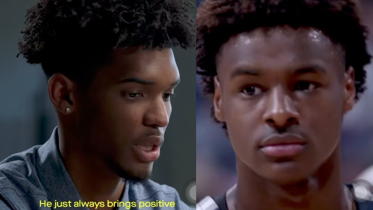 Bronny James, Zaire Wade Share First Look At Lebron James' Sierra Canyon Basketball Documentary