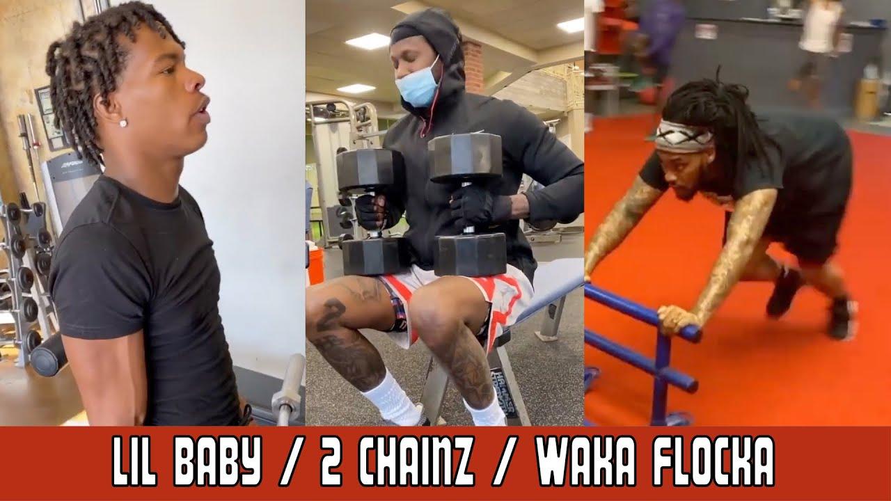 CELEBRITY FITNESS WITH LIL BABY, 2 CHAINZ AND WAKA FLOCKA