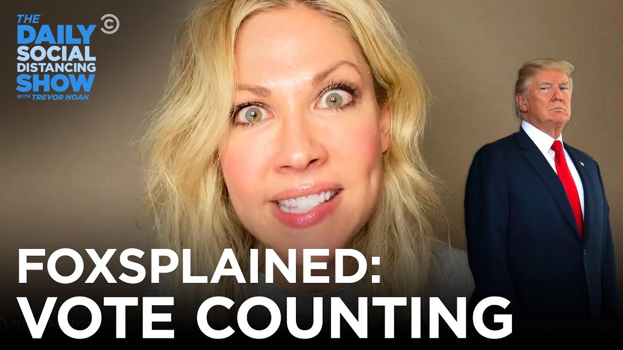 Desi Lydic Foxsplains The Vote Count   The Daily Social Distancing Show