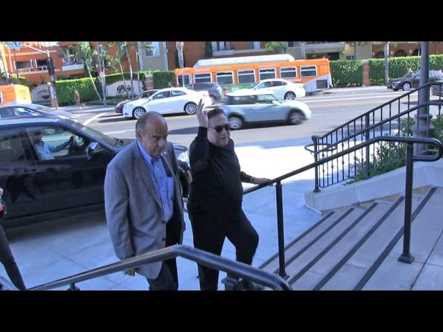 Donald Sterling Brushes Off Photographer | TMZ
