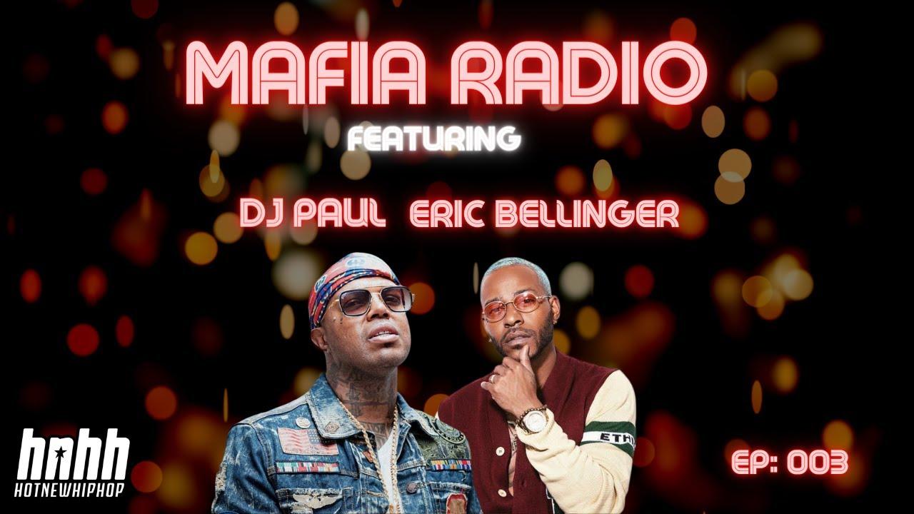 Eric Bellinger on Grammy Win, Writing For Chris Brown, Justin Bieber | DJ Paul's Mafia Radio on HNHH