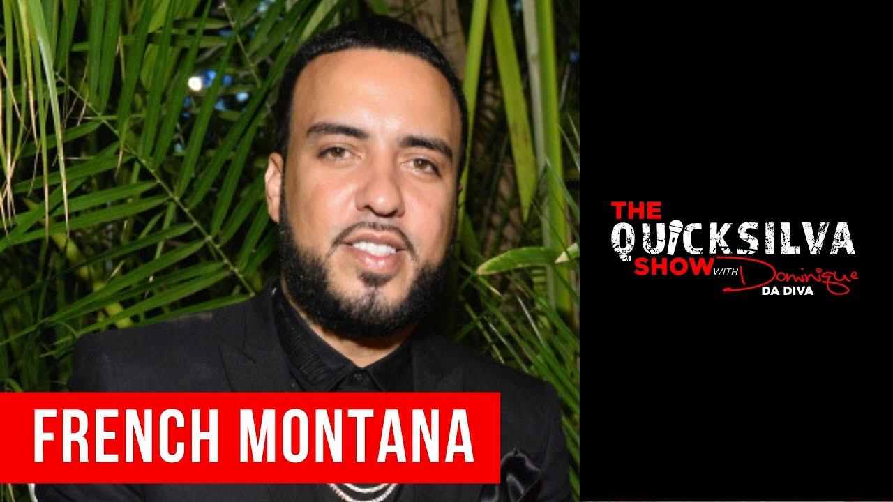 French Montana Joins The QuickSilva Show with Dominique Da Diva