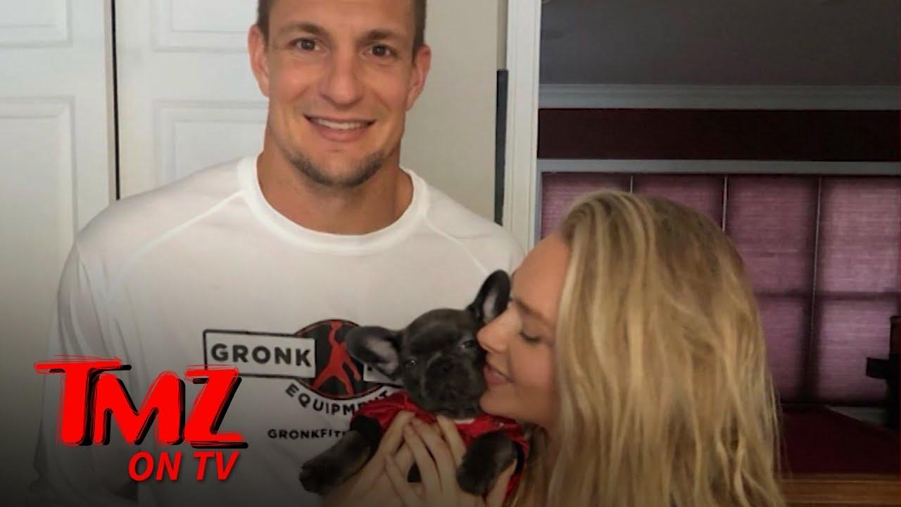 Gronk & GF Camille Kostek Got A New Dog Together! | TMZ TV