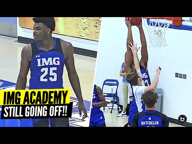 IMG Academy Goes OFF vs. D1 Commit! Can ANYONE Stop IMG!?
