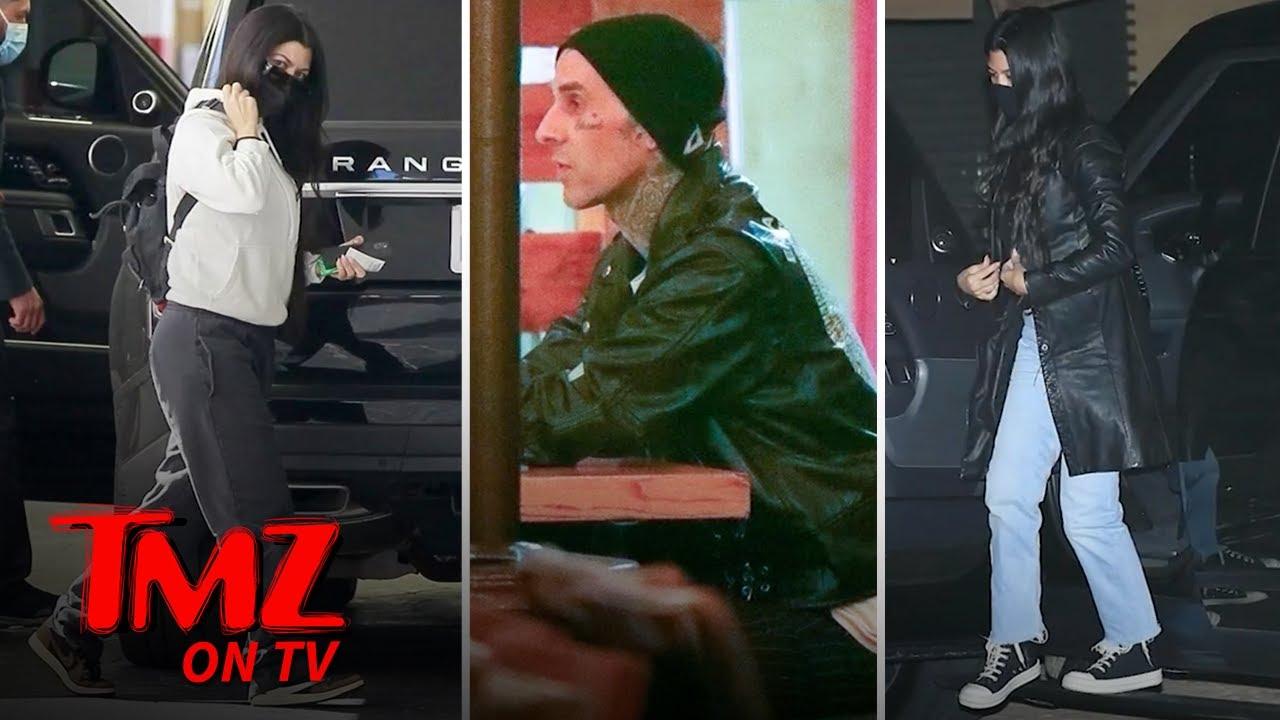 Kourtney Kardashian Falls Under Travis Barker's Spell   TMZ TV