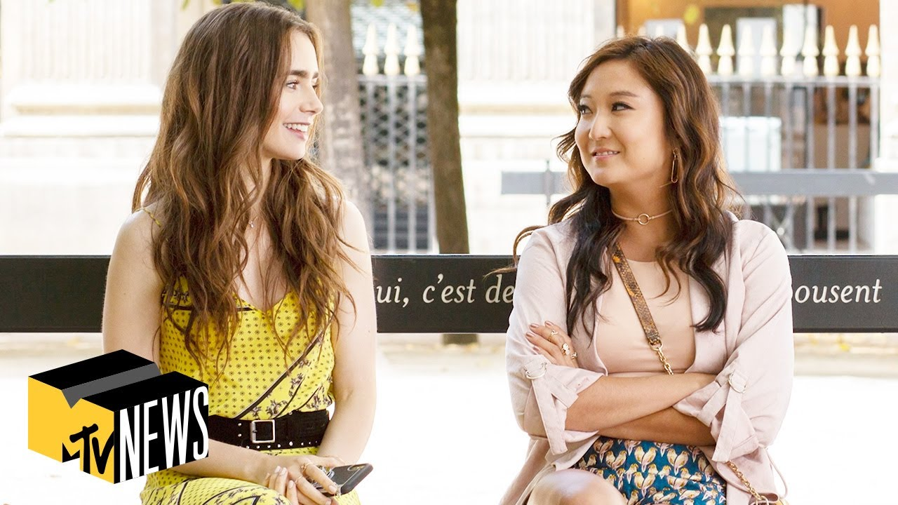 Lily Collins & Ashley Park on Their Strong Female Characters in 'Emily in Paris' | MTV News