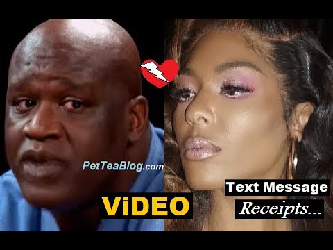Moniece Slaughter Ex Shaquille O'Neal told her to Key herself (Video)🥴
