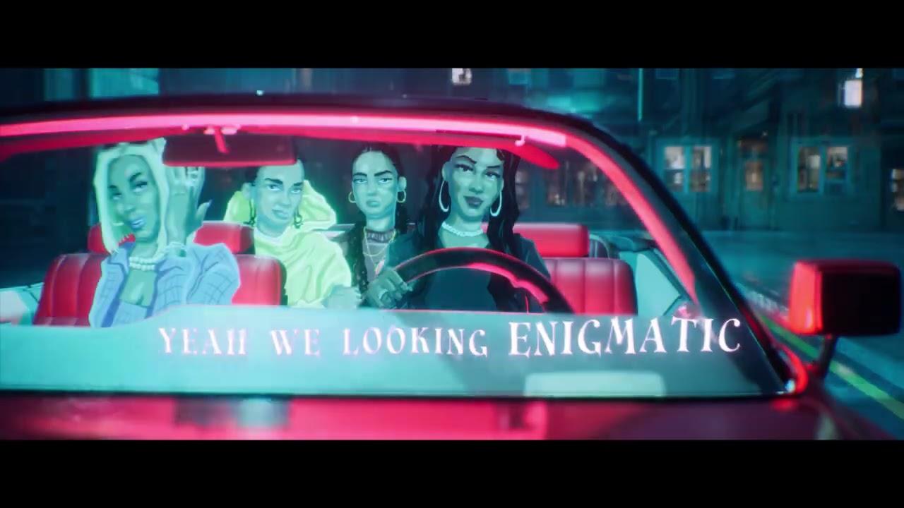 Saweetie - Best Friend (feat. Doja Cat, JessB & OKENYO) [Official Lyric Video]