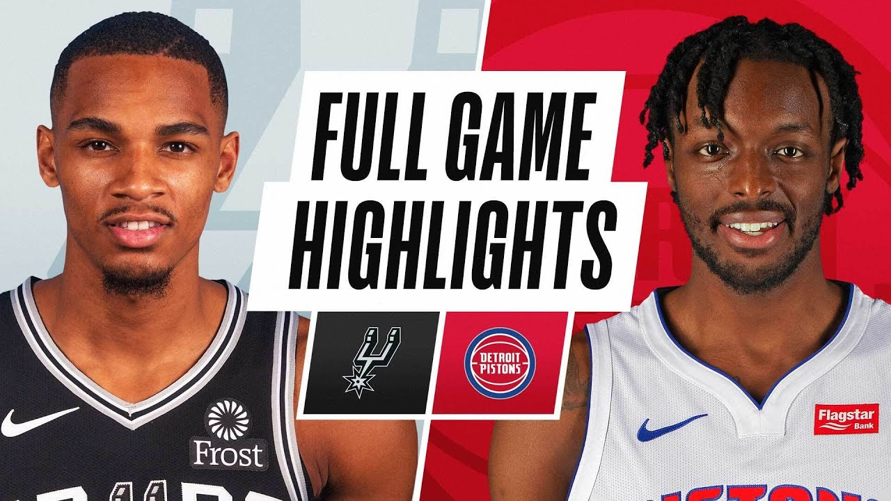 SPURS at PISTONS | FULL GAME HIGHLIGHTS | March 15, 2021