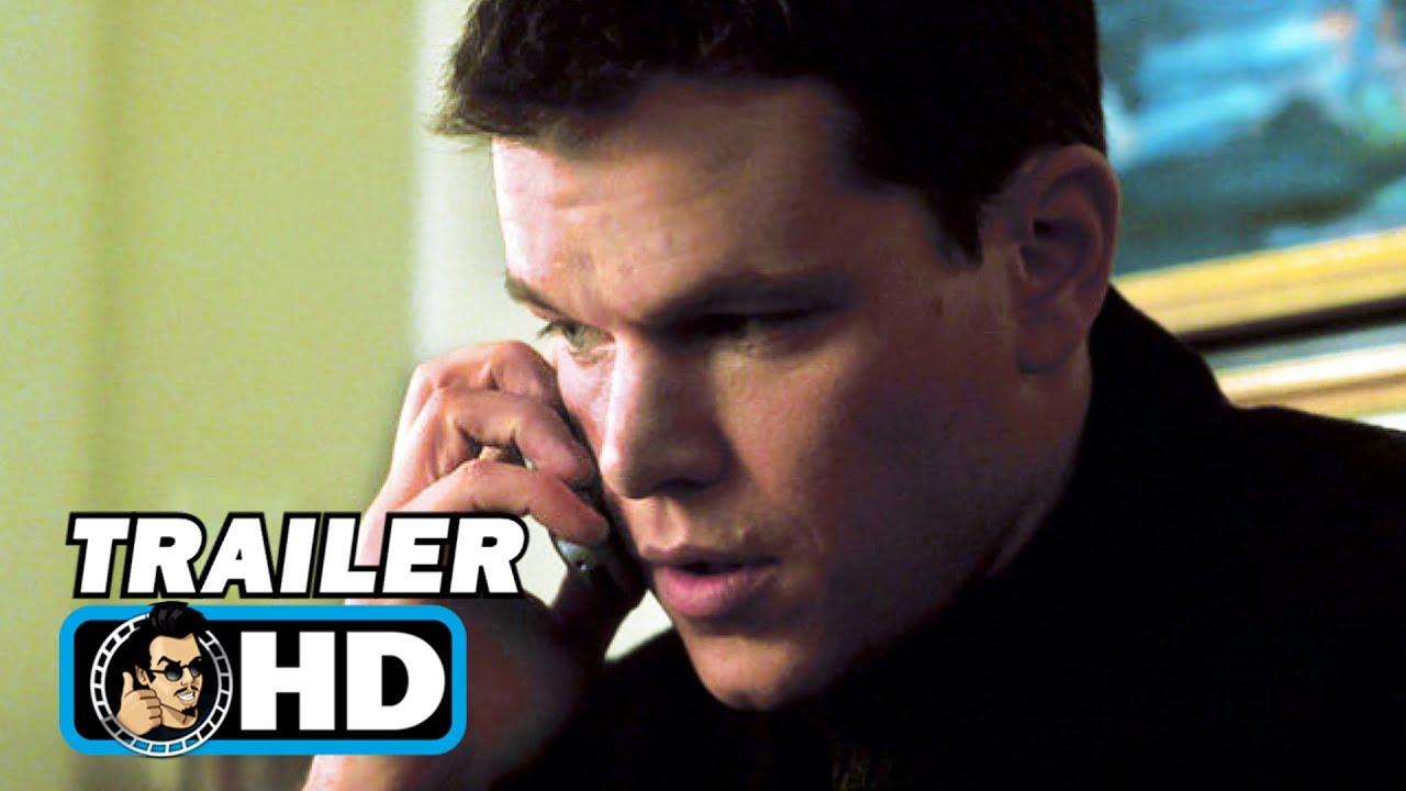 THE BOURNE IDENTITY Trailer + Clip (2002) Matt Damon, Action Mystery Movie