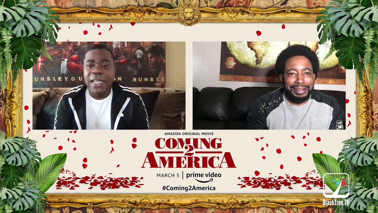 """Tracy Morgan """"Funny is Funny"""" Coming 2 America Interview, he drops lineup 4 the new kings of comedy"""