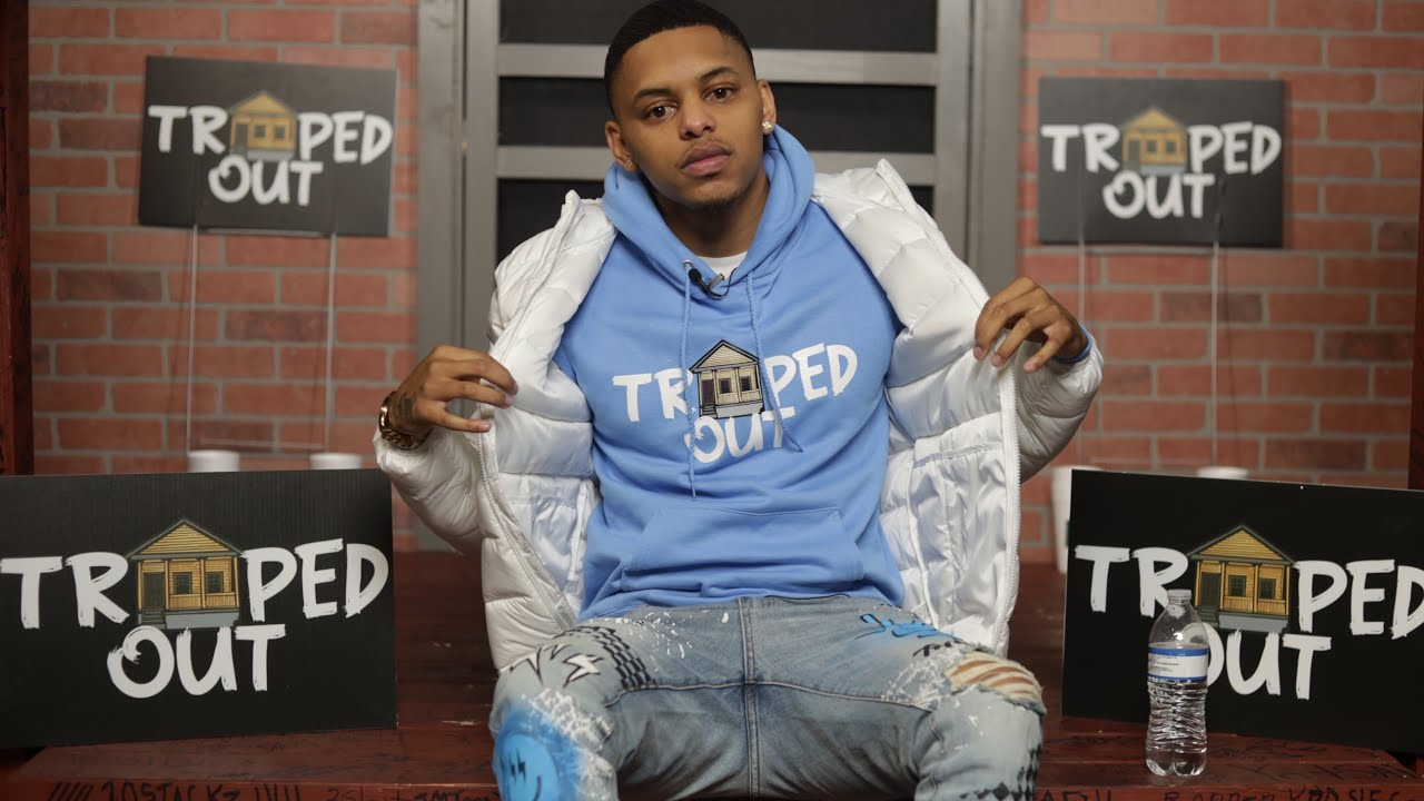 Traped Out Apparel Talks About Starting His Business w/ $1500, Connecting w Boosie, Bankroll Freddie