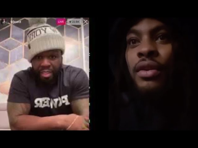 50 cent and Waka Flocka calls out T.I for message about King Von !?!