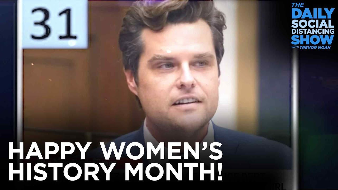 An Amazing Month for Women   The Daily Show
