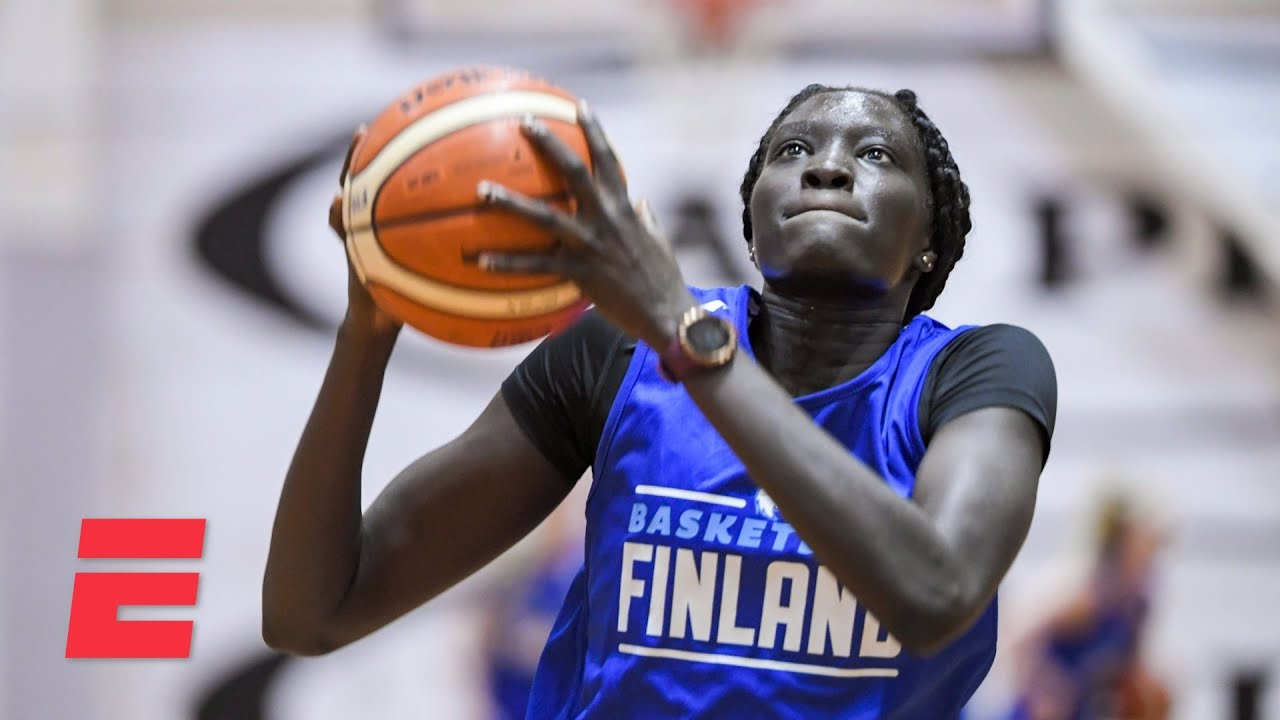 Awak Kuier goes No. 2 overall to the Dallas Wings | 2021 WNBA Draft