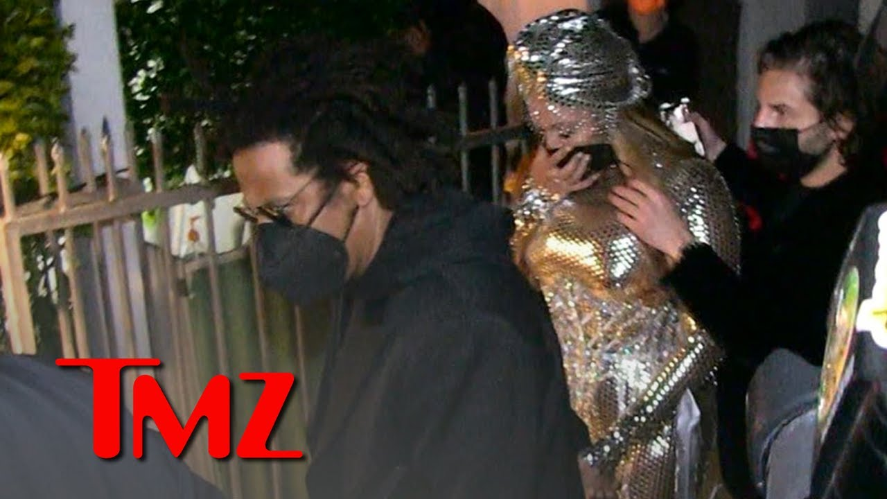 Beyonce & Jay Z Swarmed at Grammys After Party After Her Historic Night | TMZ