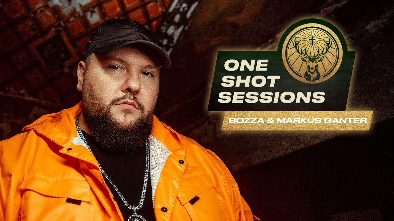 Bozza & Markus Ganter im Studio | One Shot Sessions by Jägermeister