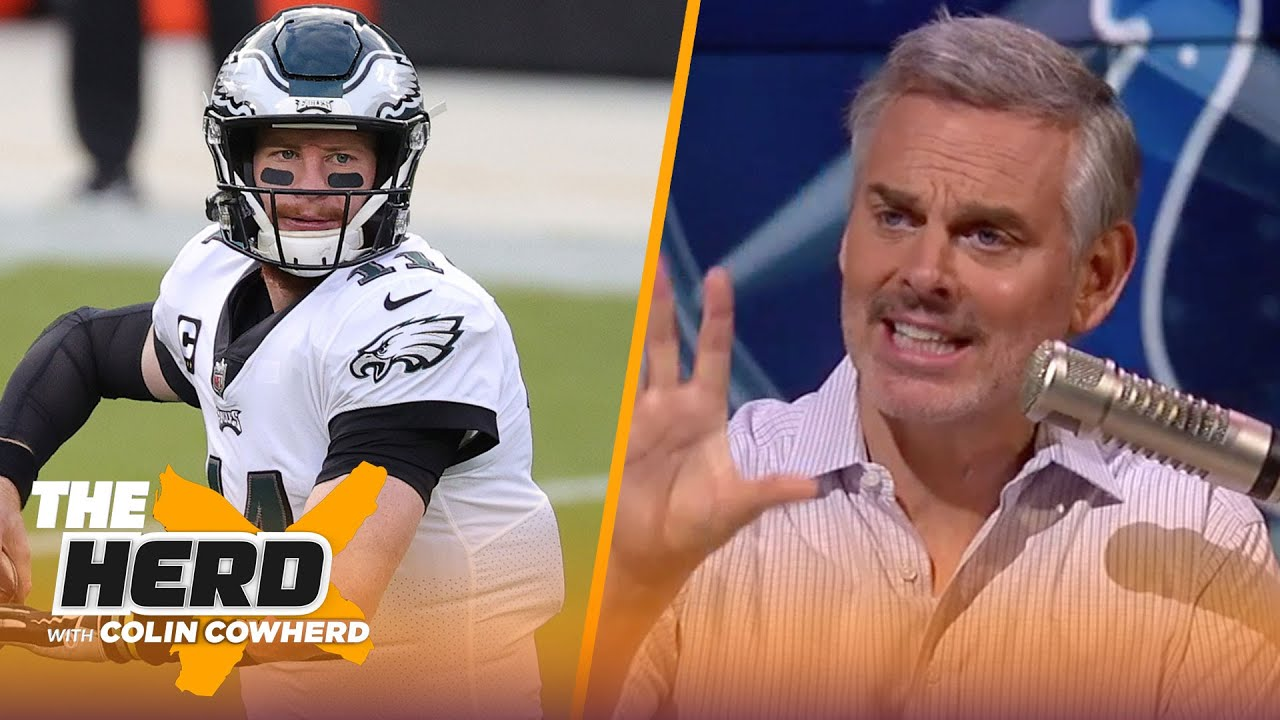 Carson Wentz could take Colts to AFC Championship game, talks Raiders — Colin | NFL | THE HERD