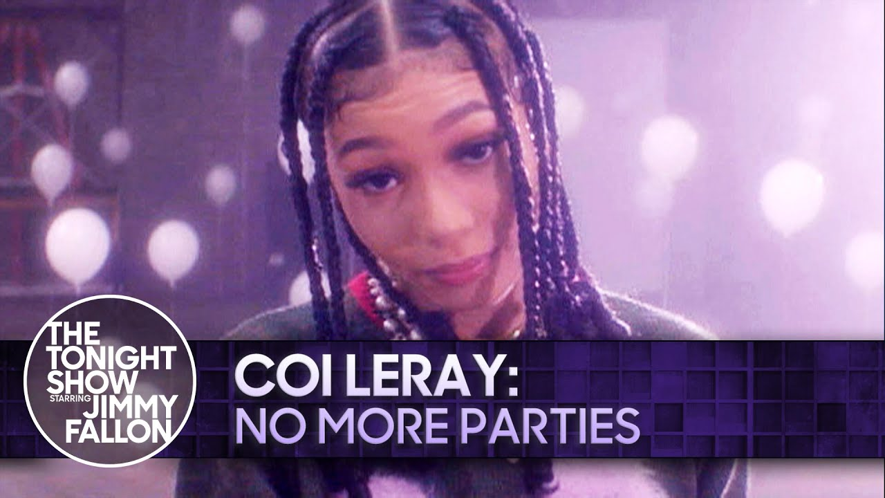 Coi Leray: No More Parties   The Tonight Show Starring Jimmy Fallon