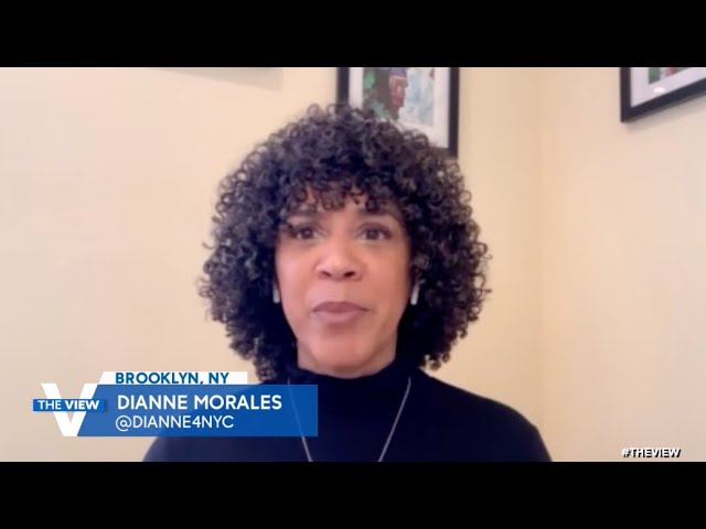 Dianne Morales On Her Grassroots Campaign To Become New York City's Next Mayor | The View